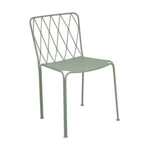 Sivozelená záhradná stolička Fermob Kintbury