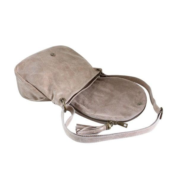 Kožená kabelka Dolce Sophie Giallo