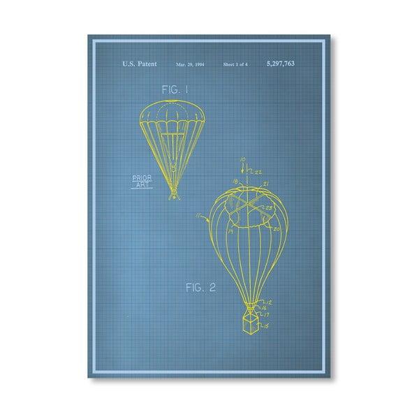 Plagát Parachute, 30x42 cm
