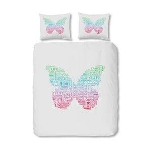 Bavlnené obliečky Müller Textiel Butterfly, 140x200 cm