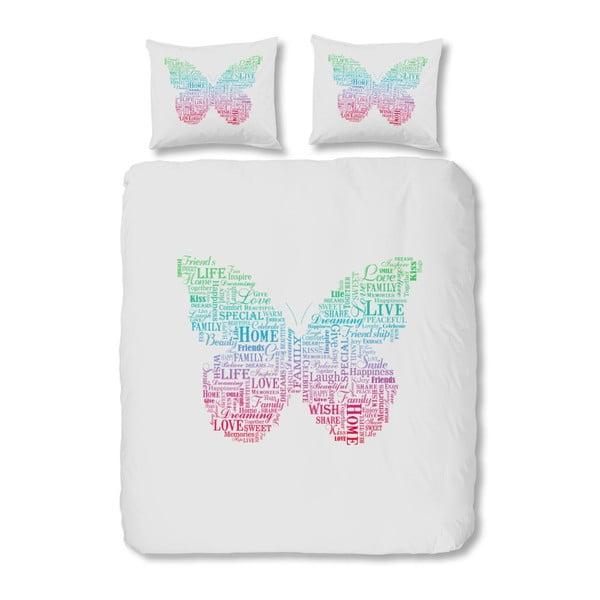 Bavlnené obliečky Mundotextil Butterfly, 240x200 cm