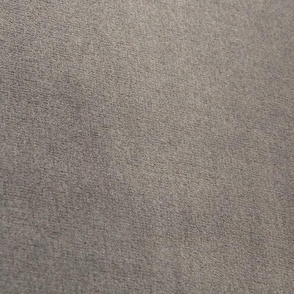 Sivé kreslo Vivonita Chesterfield