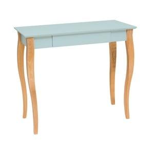 Svetlotyrkysový písací stôl Ragaba Lillo,dĺžka 85cm