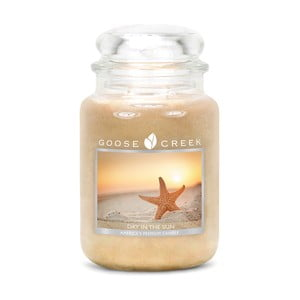 Vonná sviečka Goose Creek Slnečný deň, 150hodínhorenia
