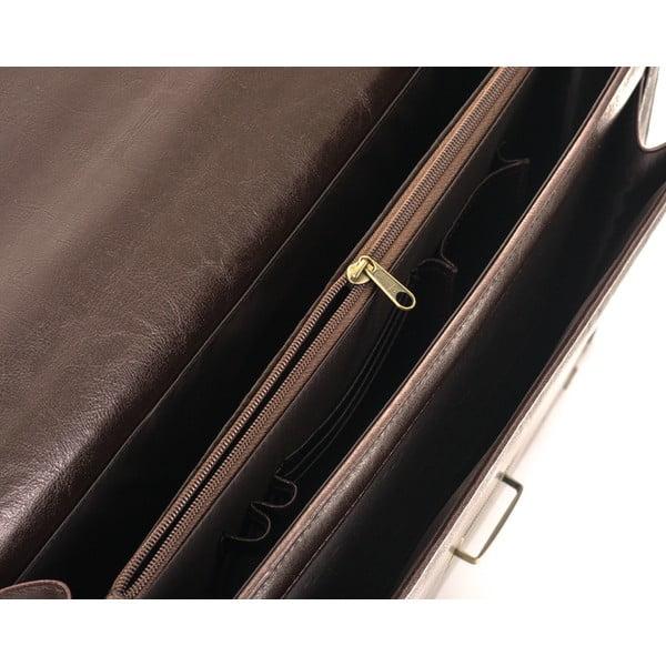 Pánska taška Solier S22, hnedá