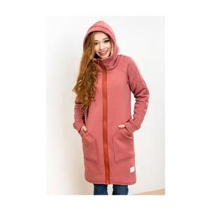 Červená bunda Lull Loungewear Attitude, veľ. M