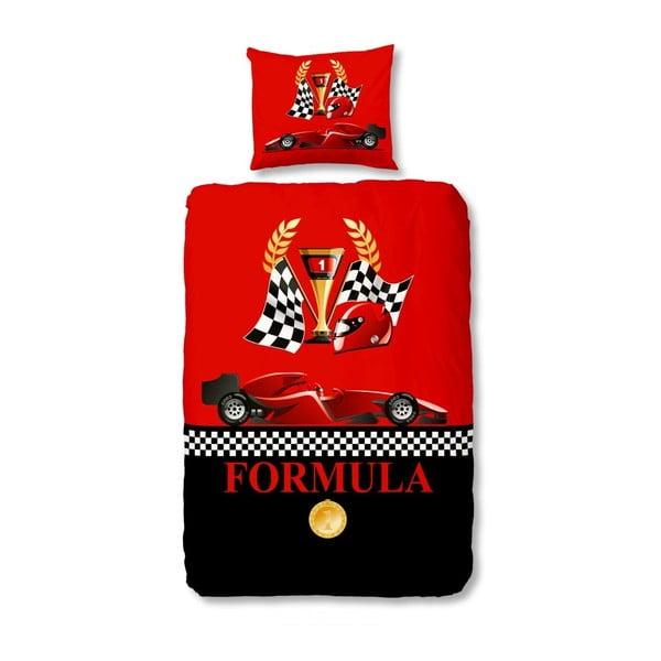 Detské obliečky Muller Textiel Racing Formula, 140x200 cm