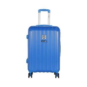 Modrý cestovný kufor LULU CASTAGNETTE Edge, 71 l