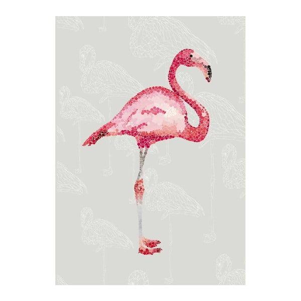 Plagát Le Flamingo, A3