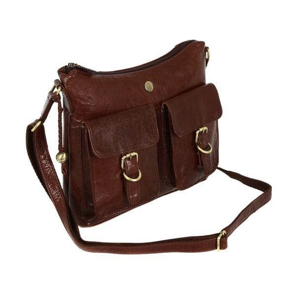 Dámska kožená taška Nightingale Brown