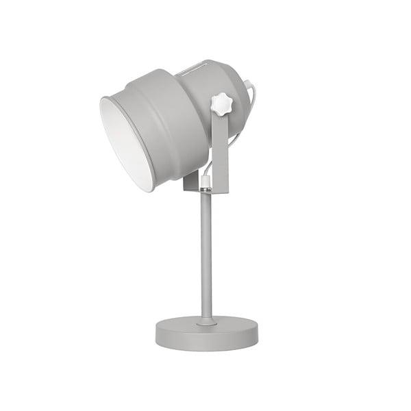 Sivá stolová lampa Leitmotiv Studio