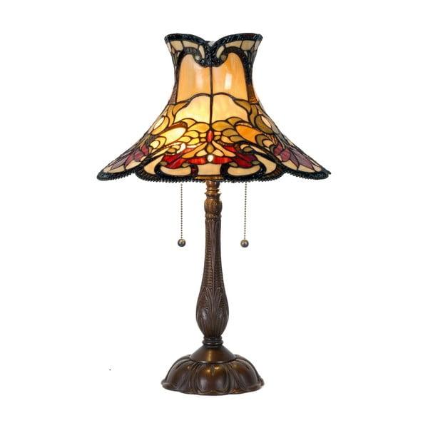 Tiffany stolová lampa Rustic
