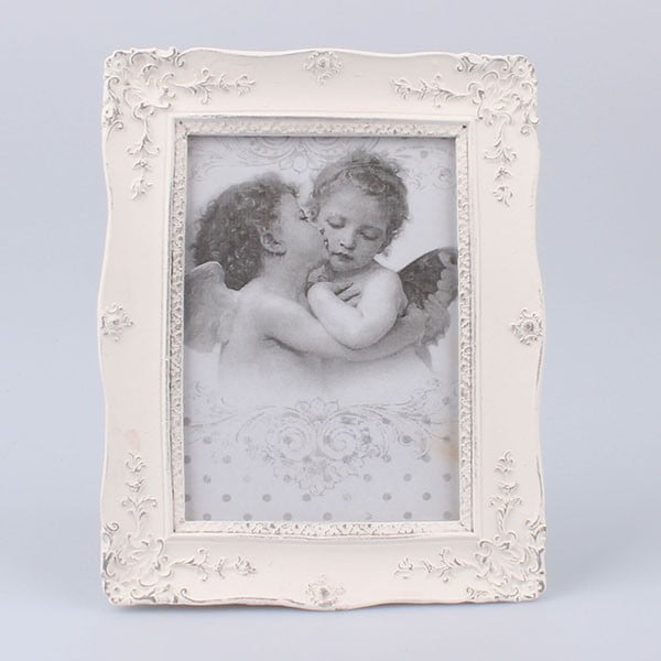 Fotorámček White Days, 17x21 cm
