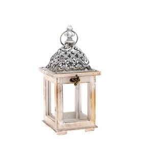 Drevený lampáš Dakls Easter Deco, výška 28,5 cm