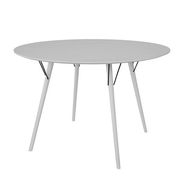 Jedálenský stôl Urban 115 cm, biely