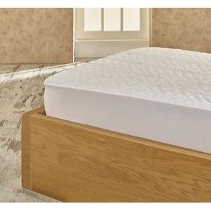 Ochranná bavlnená podložka na matrac na dvojlôžko Helene, 180×200cm