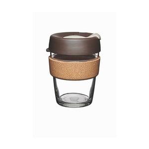 Cestovný hrnček s viečkom KeepCup Brew Cork Edition Almond, 340 ml