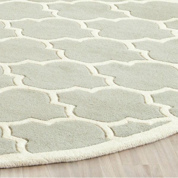 Vlnený koberec Camilla Grey, 121x182 cm