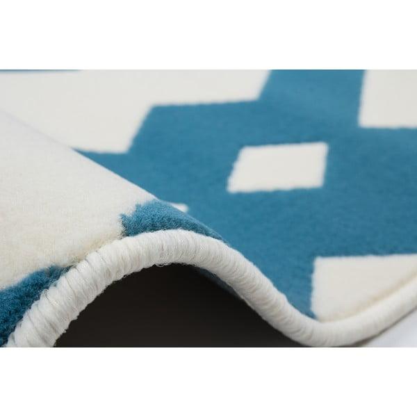Modro-biely koberec Kayoom Stella 100 Blue, 160x230cm