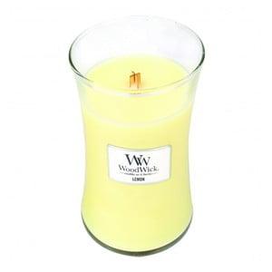 Vonná sviečka WoodWick v oválnej váze  Lively Lemonade, 130 hodín