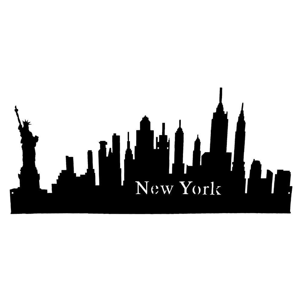 Nálepka na stenu Antic Line New York