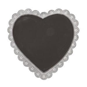 Tabuľa Clayre & Eef ve tvaru srdce