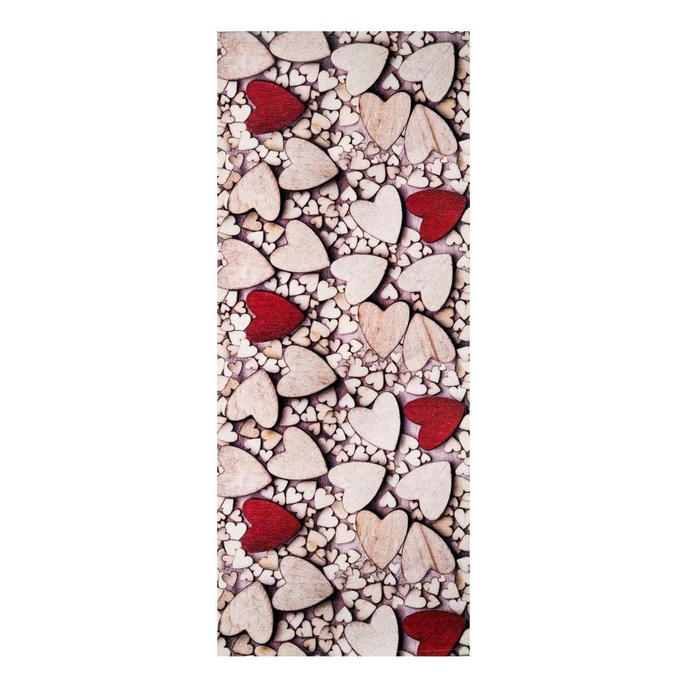 Behúň Floorita Cuori, 58 × 80 cm
