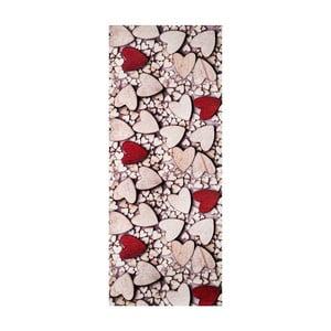Vysokoodolný koberec Webtappeti Cuori, 58 x 80 cm