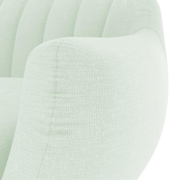 Pastelovozelená trojmiestna sedačka Vivonita Kennet