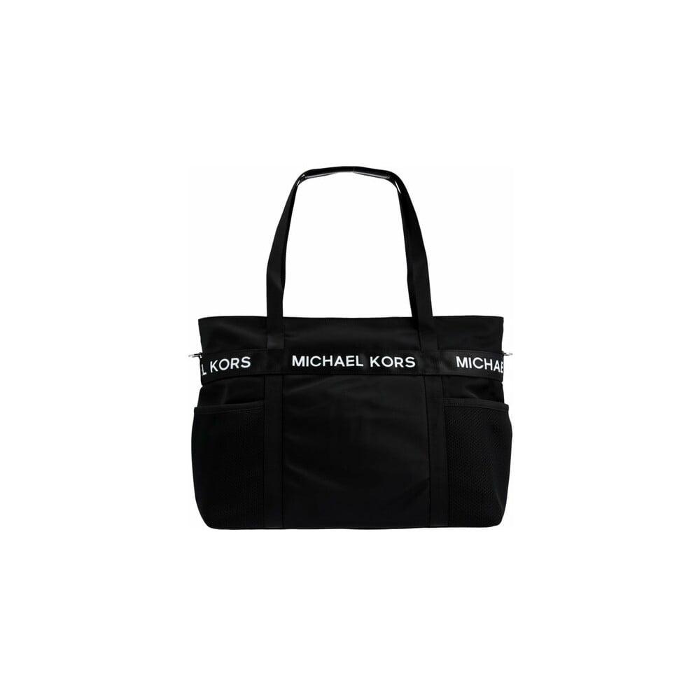Čierna látková kabelka Michael Kors The Michael