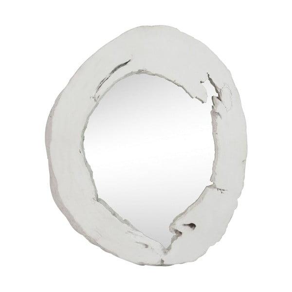 Zrkadlo Round White