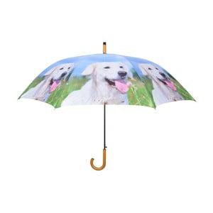 Svetlomodrý dáždnik so psíkmi Esschert Design