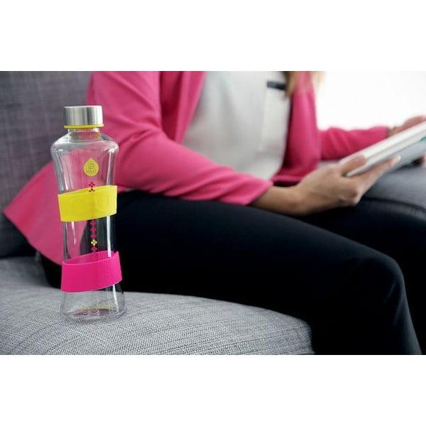 Sklenená fľaša Squezze Cmyk Yellow, 0,55 l