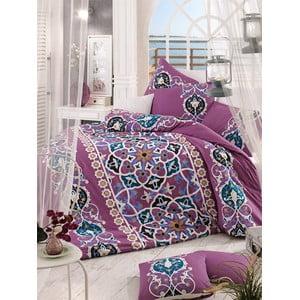 Obliečky s plachtou Kayra Pink, 200x220 cm