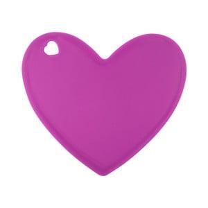 Ružová silikónová doska v tvare srdca Tantitoni Lovely
