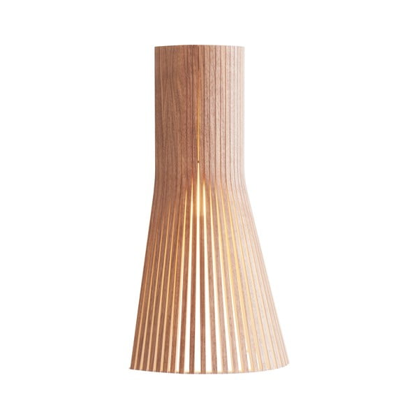 Nástenné svietidloo Secto 4231 Walnut, 45 cm