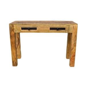 Konzolový stolík z masívneho mangového dreva Massive Home Bella