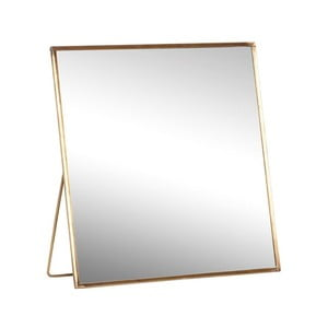 Stolové zrkadlo Hübsch Toke, 20 x 20 cm