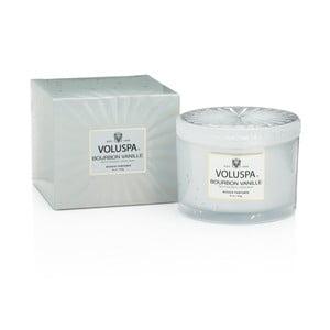 Sviečka s vôňou vanilkových strukov a francúzskeho koňaku Voluspa Vermeil, 60 hodín horenia