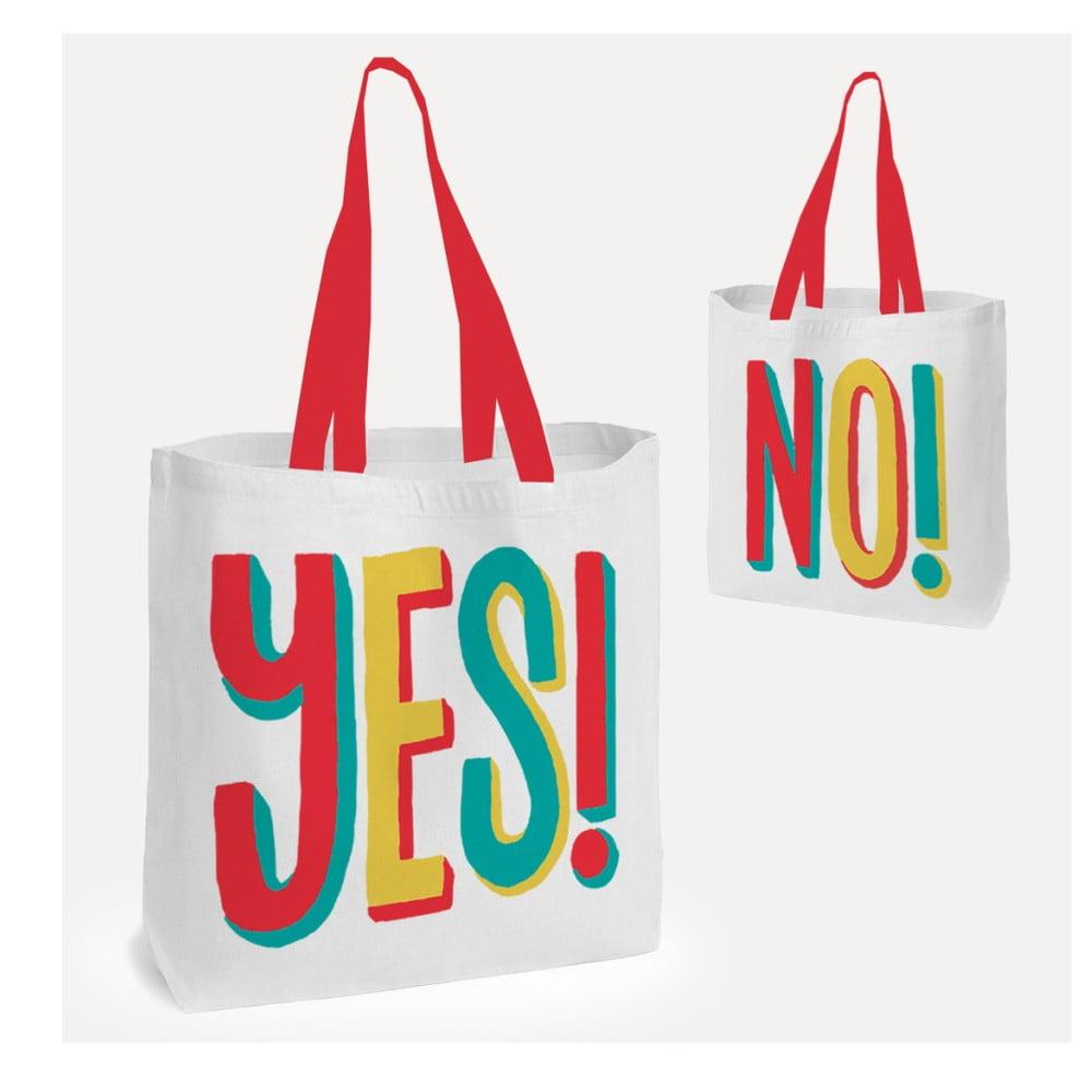 Taška do ruky alebo na rameno U Studio Design Yes !, 38 × 38 cm