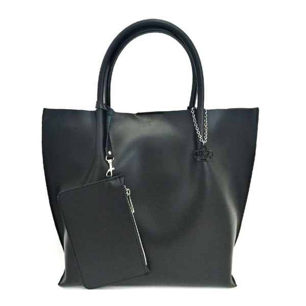 Kožená kabelka Drusilla Black