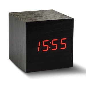 LED budík Click Clock Maxi Red