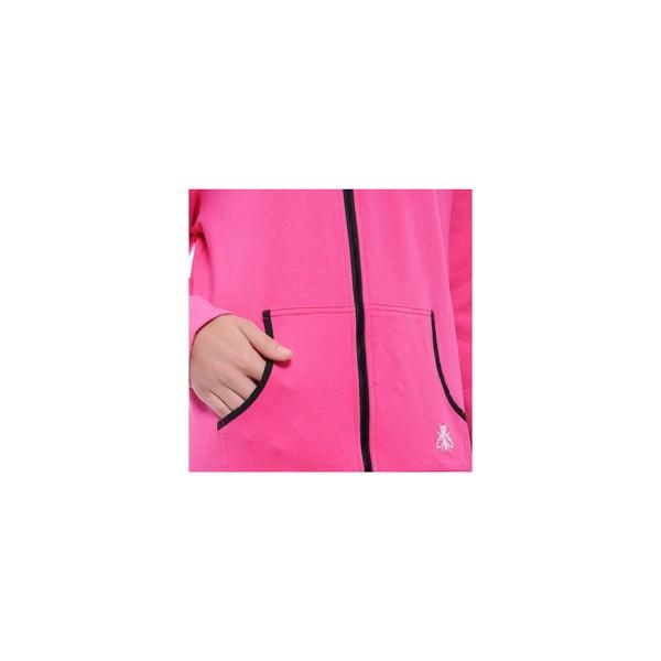Unisex domáci overal Streetfly Thin Pink, veľ. M