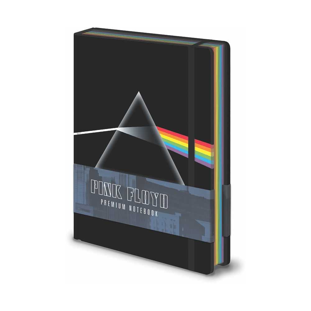 Zápisník A5 Pyramid International Pink Floyd The Dark Side Of The Moon, 120 strán