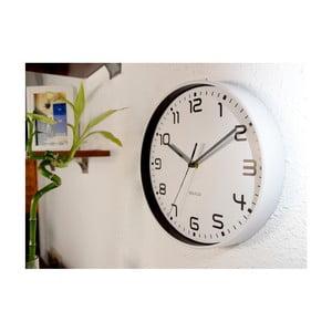 Biele nástenné hodiny Walplus ChicTime, ⌀ 25 cm