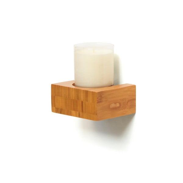 Kúpeľňový stojan na sviečku Bamboo