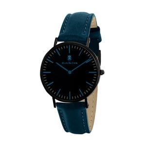 Tyrkysovo-čierne dámske hodinky Black Oak Crown