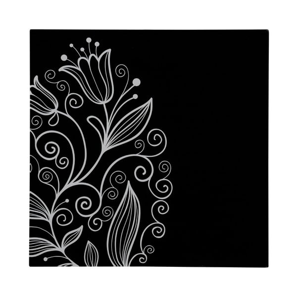 Sklenený obraz Tulip, 30x30 cm