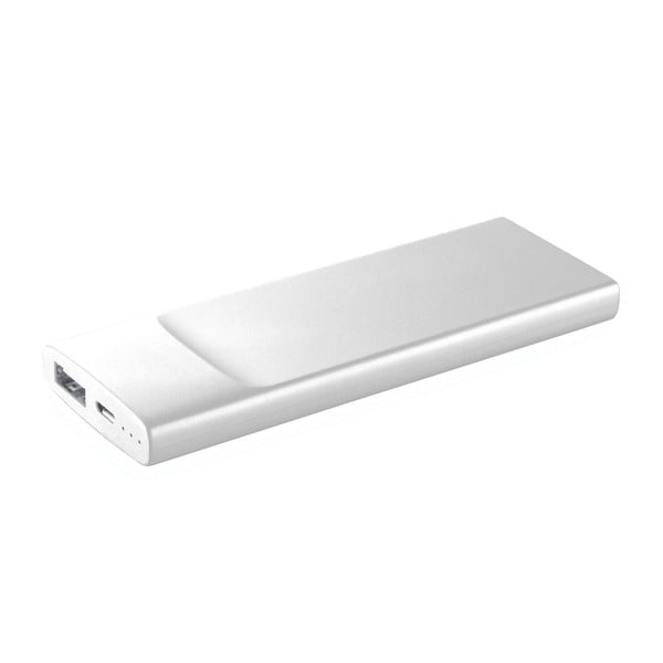 Ultratenká powerbanka CellularLine FREEPOWER Slim, 3600mAh, biela