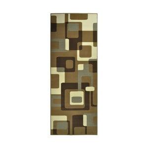 Hnedý koberec Hanse Home Hamla Retro, 80x150 cm